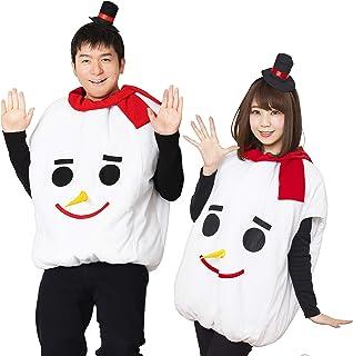 モコモコスノーマン コスチューム 男女共用 180cm