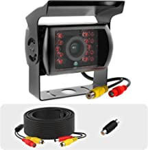 $27 » RCA Backup Camera Heavy Duty IR Night Vision Waterproof for Trucks Car Vehicle Trailer Truck Van Tow rv Replacement Universal Auto Rear View Backup Camera with Cable 33ft