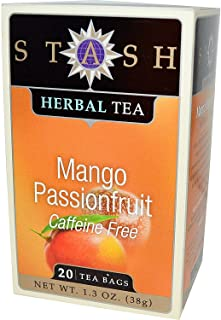 Stash Tea Mango Passionfruit Tea, 20 Count (Pack of 3)
