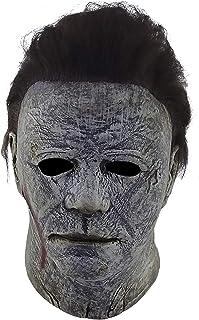 REV Máscara Original de Michael Mayers 2018 Final Battle, Disfraz de Asesino Psicopata de Película de Halloween Ideal para...