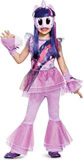 Twilight Sparkle Movie Deluxe Costume, Purple, X-Small (3T-4T)