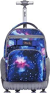 Jworld Rolling Backpacks For Girls