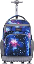 galaxy rolling backpack