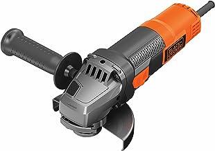 Black+Decker BEG210K haakse slijper (900 Watt, 115 mm schijfø, met 3-positie-extra handgreep, voor alle standaard snijkant...