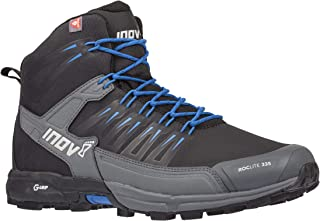 Inov-8 Roclite 335 - Mid Insulated Hiking Boots - Lightweight - Black/Blue M6.5/ W8