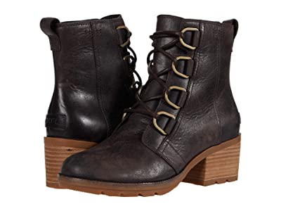 SOREL Cate Lace (Blackened Brown) Women