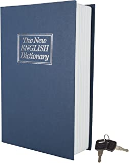 Stalwart A200017 Metal Diversion Dictionary Book Safe w/Key Lock-6 x 9 in, Full Size