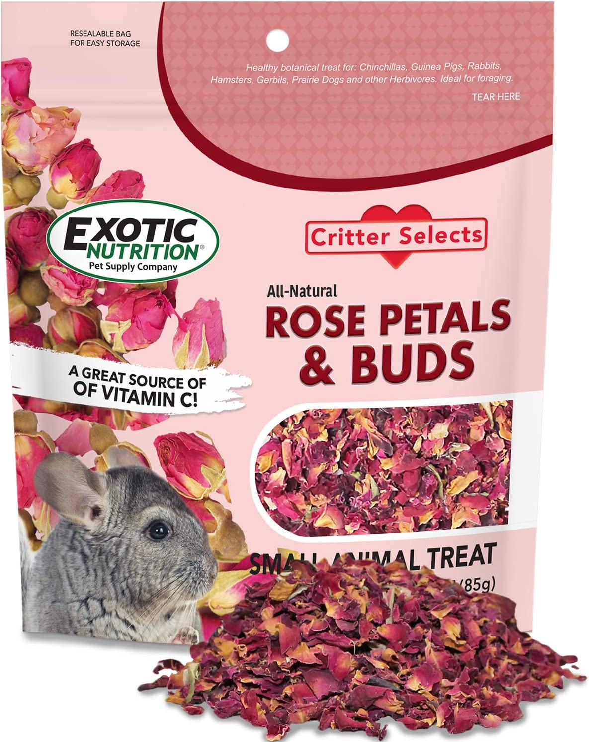 Rose Petals Buds 0.85 oz. Fort Worth Mall - Healthy Her Flower Dried Ranking TOP8 Natural