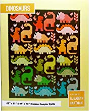 Elizabeth Hartman Quilt Pattern - Dinosaurs (Includes Instructions for Two Pattern Sizes)