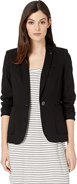 One-Button Patch Pocket Jacket