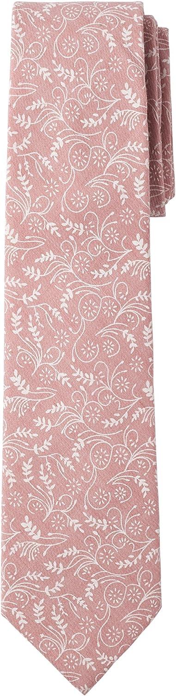 Jacob Alexander Men's Regular Floral Neck Tie