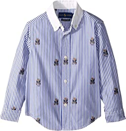 Polo Bear Stretch Cotton Shirt (Toddler)