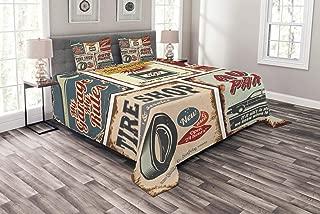 vintage car comforter