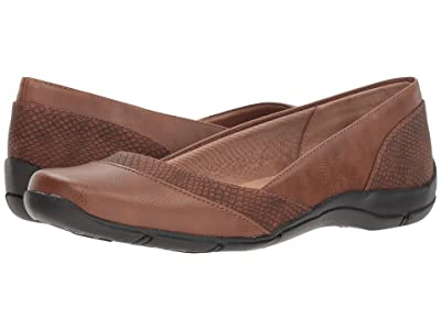 LifeStride Deja Vu (Tan Smooth) Women