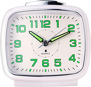 Talking Alarm Clock for Blind and Visually Impaired with Clear North American Accent (Gray)