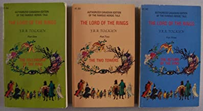 The Lord of the Rings Trilogy [ 3-volume set, 1971 ] Authorized Canadian Edition of the Famous Heroic Tale (Part One: The ...