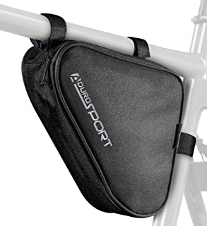 Aduro Sport Bicycle Bike Storage Bag Triangle Saddle...