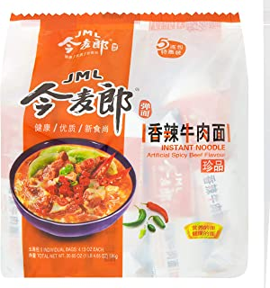 JML Instant Noodle, Artificial Spicy Beef, 4.13 Ounce (Pack of 30)