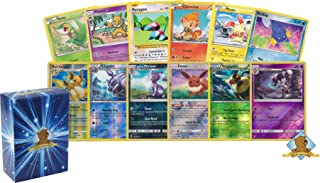 Golden Groundhog 100 Assorted Pokemon Cards with 8 Reverse Foils! Includes Box!