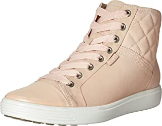 ECCO Footwear Womens Soft 7 Quilted High Top Fashion Sneaker
