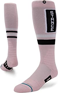 Stance Issue Crew Socks in Pink