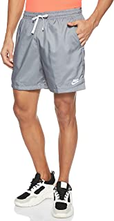 Nike Men's Ce Wvn Flow Shorts, Grey (Smoke Grey/White)