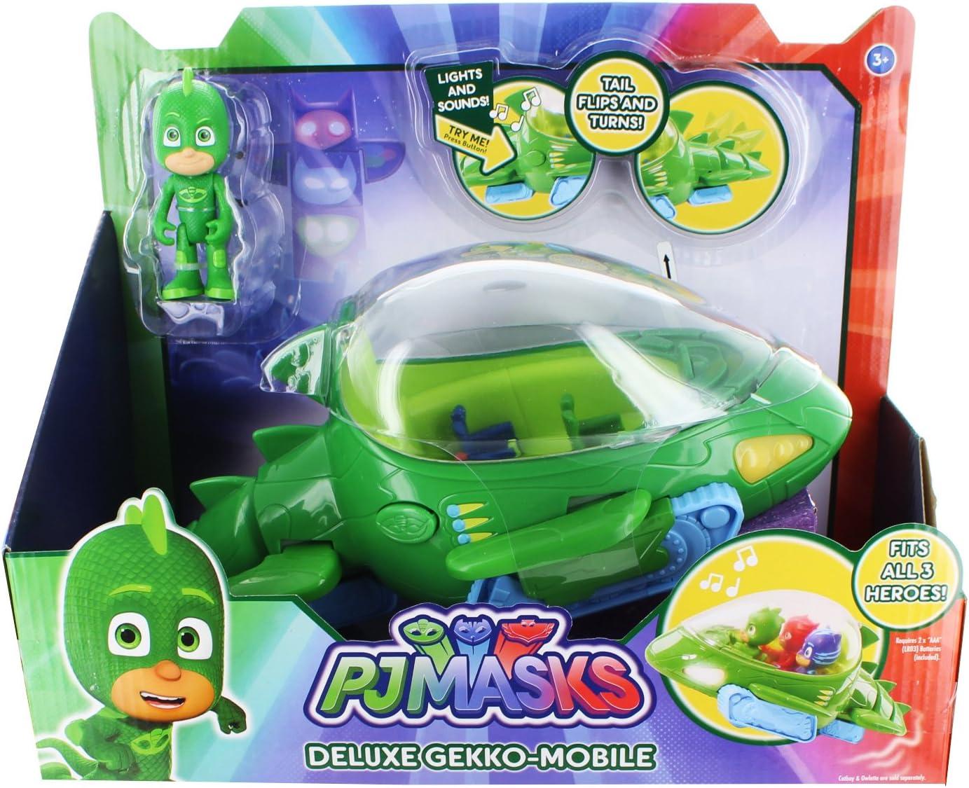PJ Masks Vehículos de Juguete, Mini (Bandai 24633)
