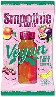 J. Luehders Vegan Soft Candy Mixed Fruit Smoothie Gummies Kiba Exotic -- 80g