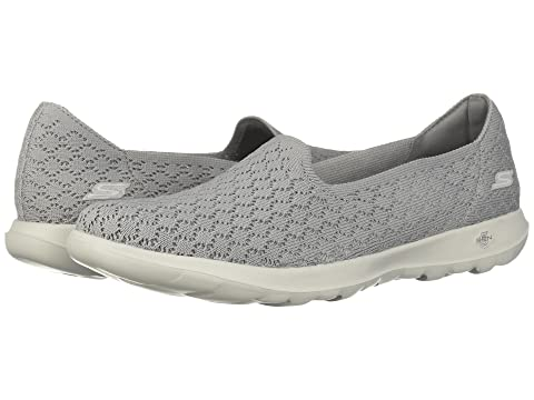 SKECHERS Lite Margarita Gris Go Performance Walk qH8tHr