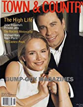 Town & Country August 1999 Magazine THE HIGH LIFE JOHN TRAVOLTA AND KELLY PRESTON PRIVATE JETS Michael Kors Tours Paris THE COOLEST POOLS