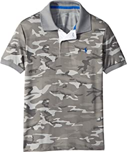 Camo Performance Lisle Polo (Little Kids/Big Kids)