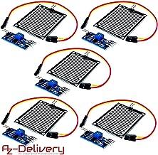 Compatibile con Robot Arduino 12 V modulo rel/è di Controllo rel/è con sensore a Gocce di Pioggia Abilie