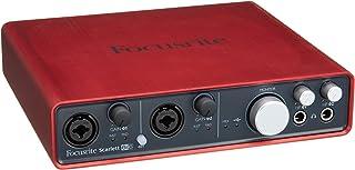 Focusrite Scarlett 6i6 USBオーディオインターフェイス 6イン6アウト Focusriteマイクプリアンプ2基搭載モデル