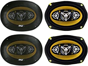 """PYLE PLG69.8 6x9"""" 8-WAY 1000w Car Audio Stereo Coaxial Speakers PLG698 photo"""