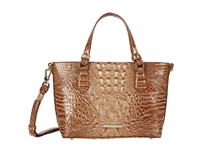 Brahmin Melbourne Mini Misha Satchel (Terracotta) Handbags
