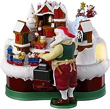 Hallmark Keepsake Christmas Ornament 2018 Year Dated, Santa's Magic Train with Music, Light and Motion