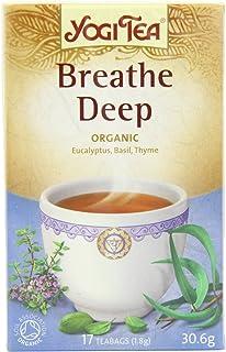 Yogi Organic Breathe Deep Tea - 17 Tea Bag, 30.6g