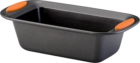 Rachael Ray 54079 Oven Lovin Bakeware Meatloaf/Nonstick Baking Loaf Pan, 9 Inch x 5 Inch,..