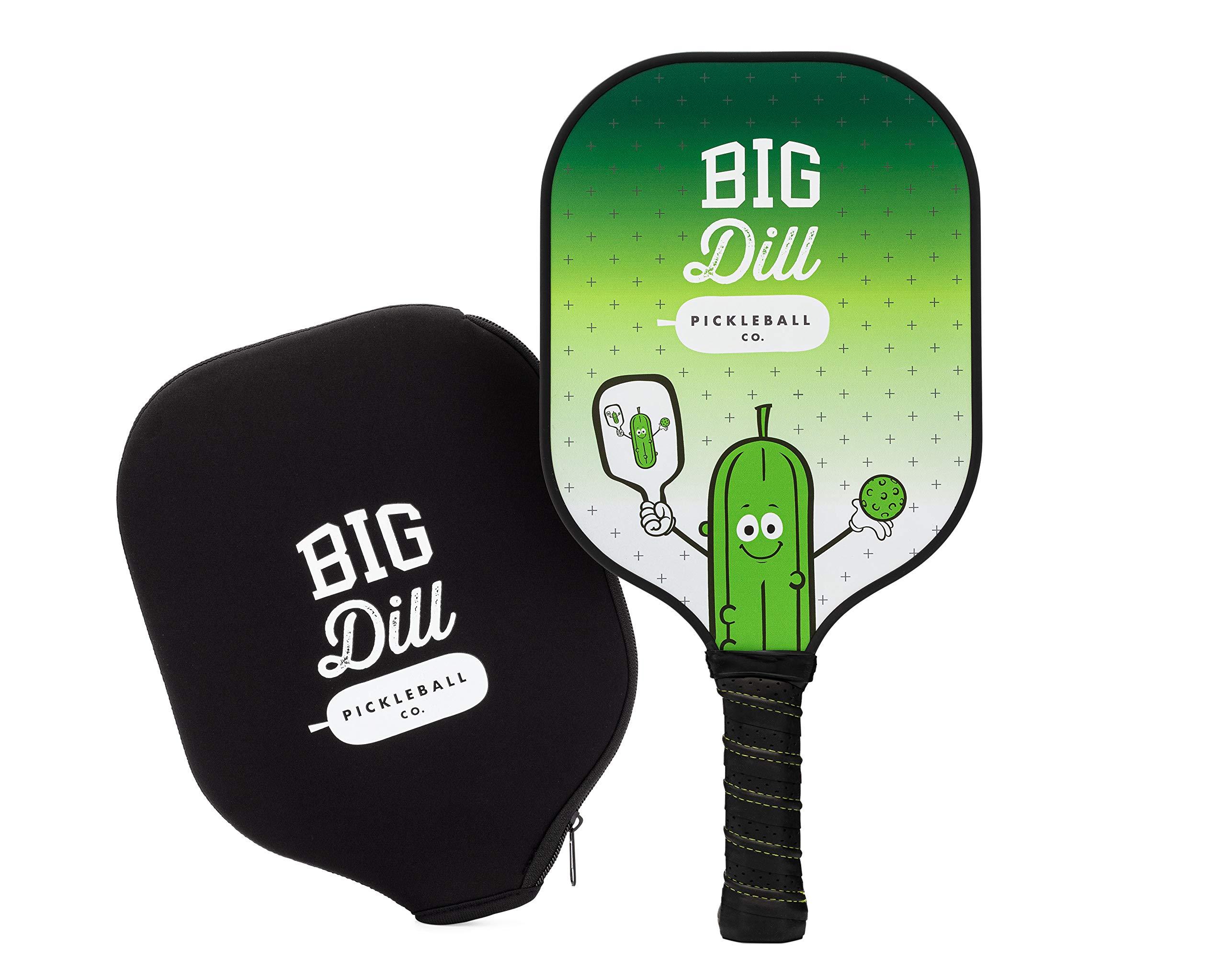 Big Dill Pickleball Co. Original Carbon Fiber Pickleball Pad