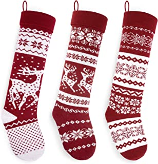 Best pottery barn red snowflake stocking Reviews