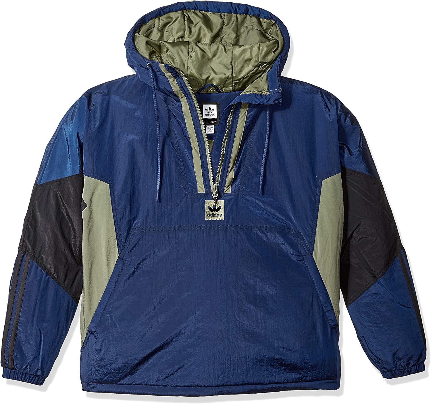 Sombra Espectador total  adidas Originals mens Skateboarding Puffy Anorak Pullover at Amazon Men's  Clothing store