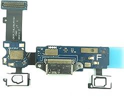 iR-Com - Conector de carga para Samsung Galaxy S5 G900F (conector de carga micro USB, conector de botón de inicio y micrófono)