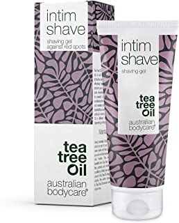 Australian Bodycare intim shave 100ml | Tea Tree Oil Rakgel med antiseptisk verkan till rakning av intimområdet | Genomski...