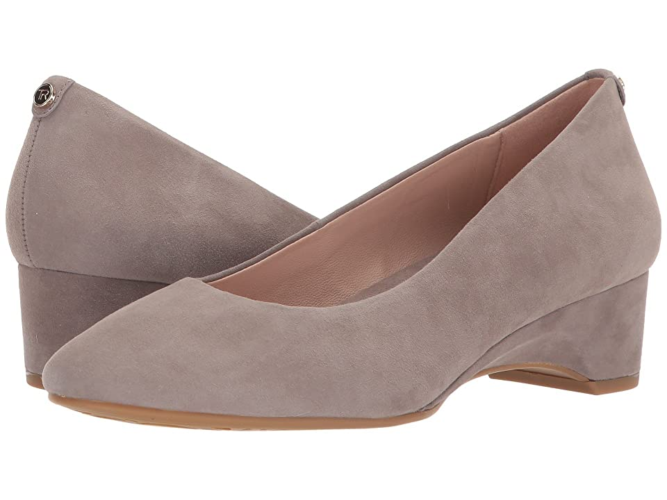 ef41bdcc411 Taryn Rose Babs (Grey Silky Suede) Women s Shoes