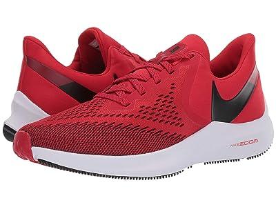 Nike Air Zoom Winflo 6 (University Red/Black/Gym Red/White) Men