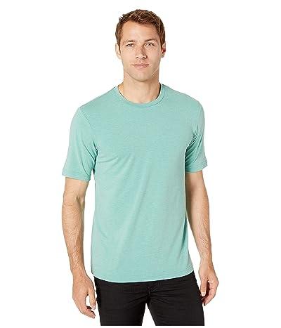 TravisMathew Butterfield T-Shirt (Heather Beryl Green) Men