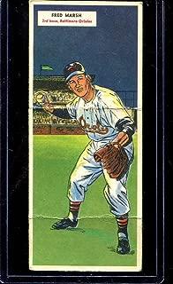 1955 Topps Double Header Baseball #039 39-40 Marsh/Theis STARX 5 EX (CS27339)