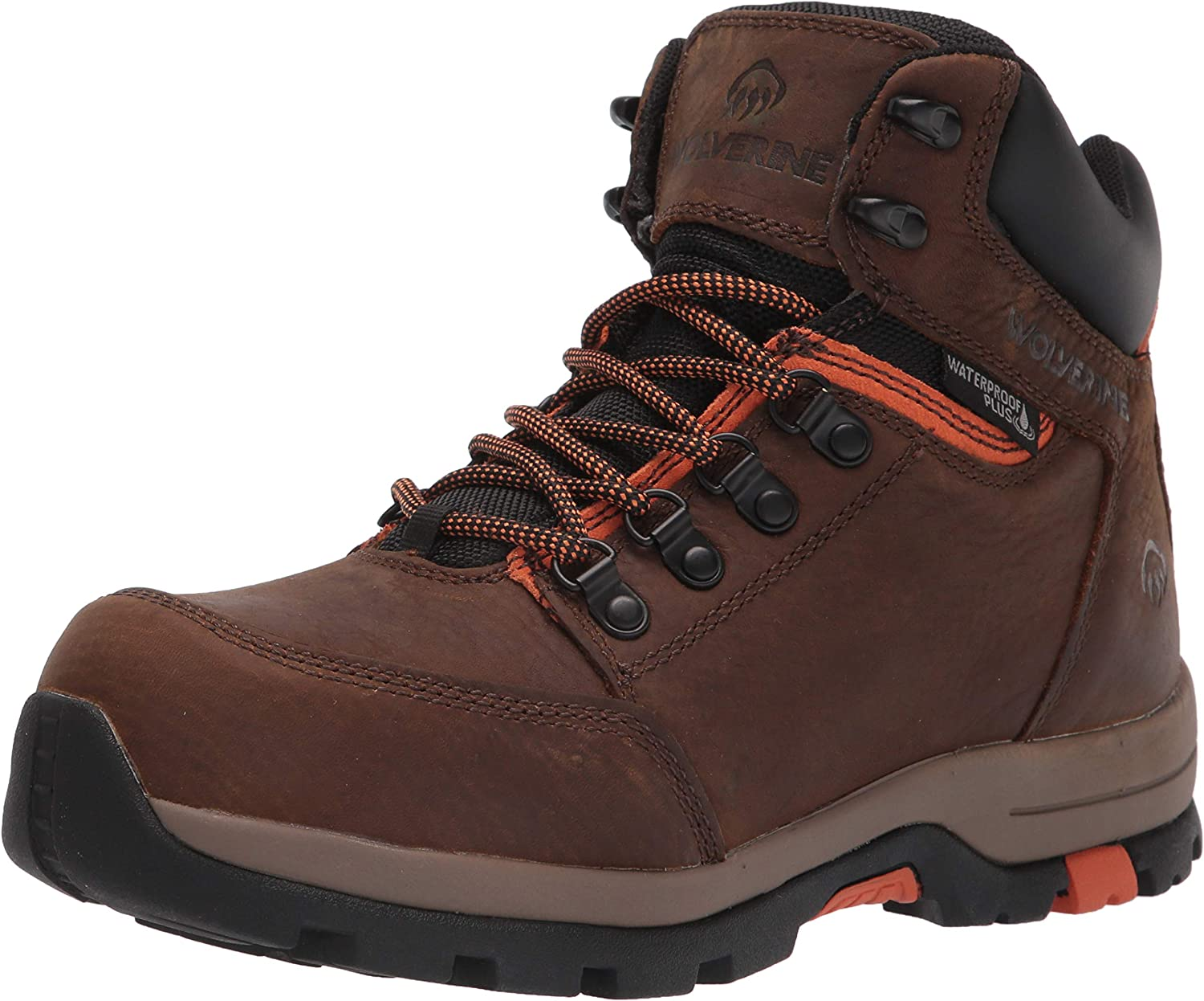 WOLVERINE Men's Tulsa Mall Grayson Mid St Construction Boot All items in the store