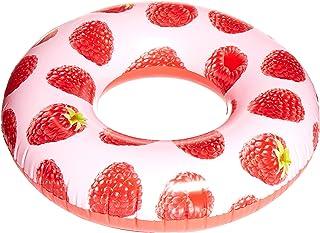 Bestway Scentsational Raspberry Inflatable Swim Ring Tube 119Cm