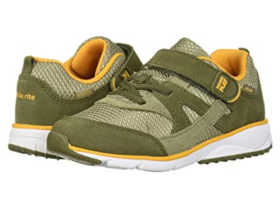 Stride Rite M2P Ace (Toddler) (Olive) Boys Shoes